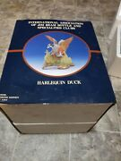 1994 Jim Beam Ducks Harlequin Duck Decanter Limited Edition Of 1104