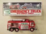 Hess Truck 2005 Emergency Truck With Rescue Vehicle
