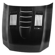 For Ford Mustang 10-14 Anderson Composites Ss-style Gloss Carbon Fiber Hood