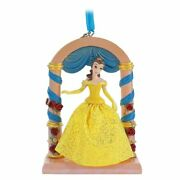 2020 Disney Fairytale Moments Sketchbook Ornament - Belle Of Beauty And The Beast