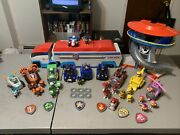 Paw Patrol Lot-figuresvehicleslookout Tower. Entire Lot For The Super Fan.