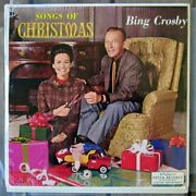Bing Crosby Songs Of Christmas - Decca Dl 34461 - Sealed And Pristine