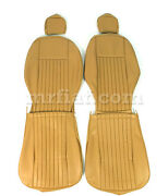 Fiat 124 Spider Tan Seat Covers 69-78 New