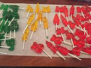 Clear Toy Candy, Barley Lollipops, Different Quantity Available
