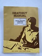 Heathkit Id-4001 Assembly Manual Digital Weather Computer Unchecked