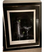 Michael Godard Marlin Martini With Original Remark And Cert. Of Authenticity
