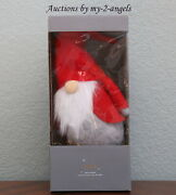 New In Box Pottery Barn Felt Gnome Tree Topper Christmas Holiday Sold Out