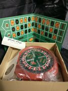 Vintage 1960 Waco Electro Roulette Game Complete Nice Condition
