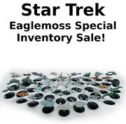 Star Trek Eaglemoss Ship Collection With Magazine- Your Choice Of 100+