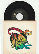 Aerosmith Andndash Angel / Girl Keeps Coming Apart 45 Rpm Record Picture Sleeve Nm