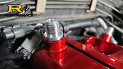 Rb26dett Valve Cover Breather Fitting -10an Press In Set