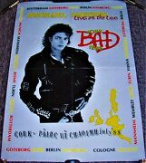 Michael Jackson Stunning Concert Tour Poster Cork Ireland July 30th And 31st 1988