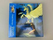 Rare - Fantasy Jigsaw Puzzles Winged Messinger Nude Lady 500 Pieces