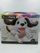 Zoomer Playful Pup, Responsive Robotic Dog With Voice Recognition And Realistic