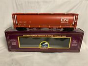 ✅mth Premier Canadian National 100 Ton Cylindrical Covered Hopper Car 20-97706