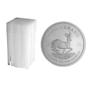 2021 1 Oz South Africa Silver Krugerrand Coin - Bu - 0.999 Fine   Tube Of 25