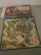 A 1988 Uncle Wiggly Milton Bradley Board Game