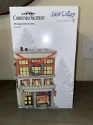 Dept 56 National Lampoon's Christmas Vacation The Department Store 600634 New