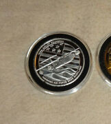 Set Of 756th Airlift Squadron Andrews Air Force Base Maryland .999 Silver Coin A