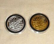 Set Of 756th Airlift Squadron Andrews Air Force Base Maryland .999 Silver Coin B