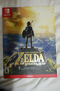 The Legend Of Zelda Breath Of The Wild Limited Edition - Us Ntsc Sealed 2017 Ns