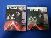 Total Recall Blu-ray/dvd, 2012 1990 - With Slipcover - Ultimate Rekall Edition
