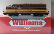 ✅williams Boston And Maine Bl-2 Diesel Engine W/ Horn And Lionel Type Couplers