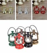 Miniatures Retro Styles Oil Lamp For Doll Houses Furniture Plastic Materials New