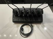 Lot 6 Motorola Xts5000 And Impres Charger Radio Model H18uch9pw7an