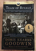 Team Of Rivals By Doris Kearns Goodwin 2006 Trade Paperback Lincoln Biography