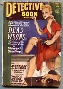 Detective Book Pulp Fall 1948- George Gross Cover- Dead Wrong
