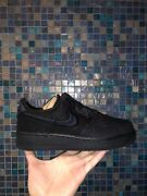 Nike Air Force 1 Low X Stussy Black Cz9084-001 Size 7.5-14 In Hand Ship Asap