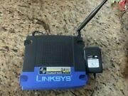 Linksys Router Model Wrt54gp2 Wireless G Router W/ 3 Lan Ports And 2 Phone Jacks