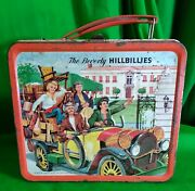 The Beverly Hillbillies Vintage Metal Lunchbox With Thermos 1963 Good Condition