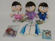 Mixed Japanese Anime Accessory Lot Of 5 Beanbag Plush And Bag Hanger Keychains New