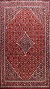 10and039x13and039 Vintage Geometric Mahal Area Rug Wool Hand-knotted Oriental Large Carpet
