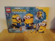 Lego 75551 Minions The Rise Of Gru Brick-built Minions And Their Lair Brand New