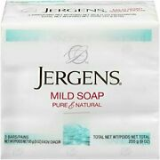 Jergens Mild Soap For Face And Body 3 Ounce - 3 Count Pack Of 5