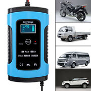 Car Auto Motorcycle Battery Charger Maintainer 6a 12v Charger Intelligent Tool