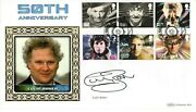 Dr Who 50th Anniversary Signed Benham 2013 Cover By Colin Baker