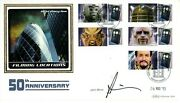 Dr Who 50th Anniversary Signed Benham 2013 Cover By John Simm