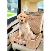 Seat Armour Komfort2go Tan Car Pet Bed And Seat Cover W Corvette C6 Logo