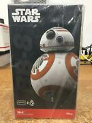 Star Wars Original Bb-8 Sphero App Enabled Droid Controlled Robot Toy Brand New