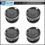 Oem Dash Air Vent Louver Chrome And Gray Kit Set Of 4 Or F150 Pickup