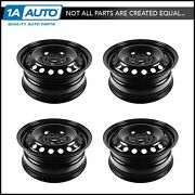 16 Inch Steel Replacement Wheel Rim New Set Of 4 For 12-13 Ford Focus Fusion