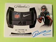 2018 Flawless Dj Chark Rc 1/1 Laundry Tag Patch Extremely Rare Jags