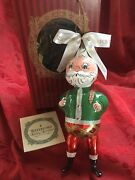 Flawless Exceptional Waterford Glass Limited Edition Santa Christmas Ornament