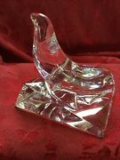 Flawless Exquisite Baccarat France Crystal Seal Phoque Sea Lion Walrus Figurine