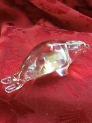 Flawless Exquisite Hadeland Norway Crystal Sea Lion Seal Paperweight Figurine