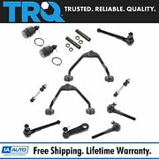 Trq 13 Pc Control Arm Ball Joint Tie Rod Sway Bar Link Kit For Ford Lincoln 2wd